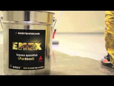 Aplicare vopsea epoxidica pentru pardoseli - emex.ro - 021-457.0638