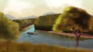 The Life Cycle of the Atlantic Salmon animation