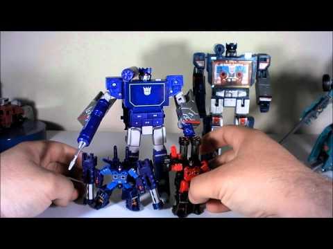 T2RX6 Reviews: Transformers Music Label Soundwave
