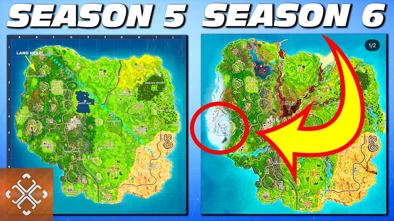10 Fortnite Season 6 Updates That Will Change The Game Youtube