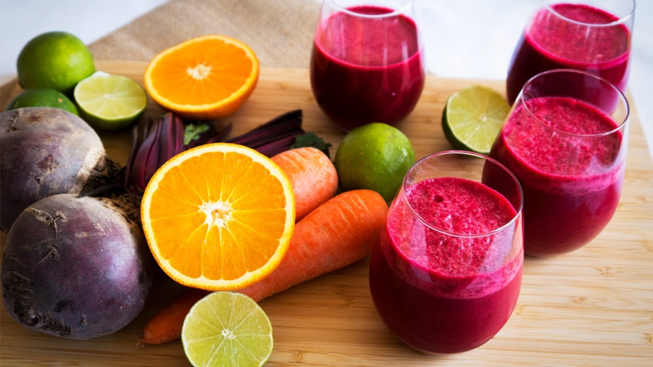 Zanahoria Y Remolacha : ¿cuáles son los beneficios del jugo de zanahoria, remolacha y naranja?