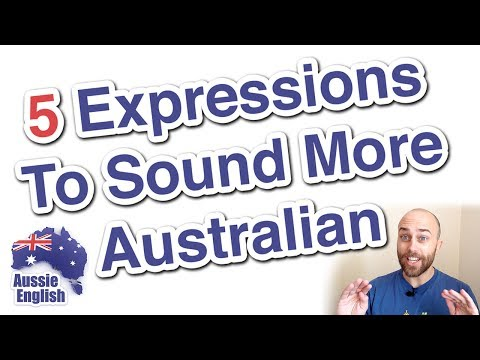 5 expressions to sound more Australian | Learn Australian English | Aussie English