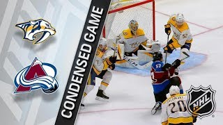 Nashville Predators vs Colorado Avalanche – Mar. 16, 2018 | Game Highlights | NHL 2017/18. Обзор