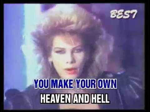C.C. Catch - Heaven and Hell - Lyrics