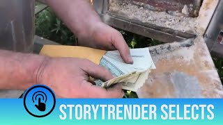 Cash Worth Thousands Found in Abandoned Safe | StoryTrender Picks