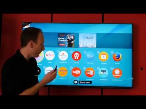 Panasonic Viera Television Voice Control Feature How to