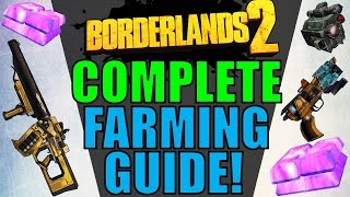 COMPLETE FARMING GUIDE for Borderlands 2: Handsome Collection! (Guns, Gear, & Eridium!)