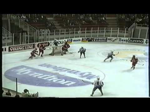 25.08.1992 Harjoitusottelu: TPS - Venäjä, 6-5