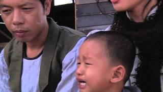 Behind the Scene - Thái Hòa + Ngô Thanh Vân và cách họ dỗ con nít khóc.
