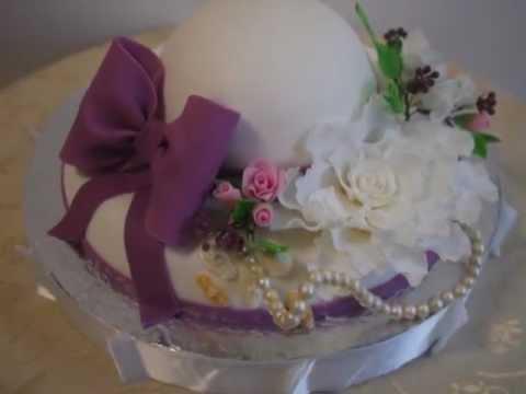Оформление тортов для женщин фото