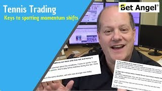 Peter Webb - Betfair tennis trading - Keys to spotting momentum shifts