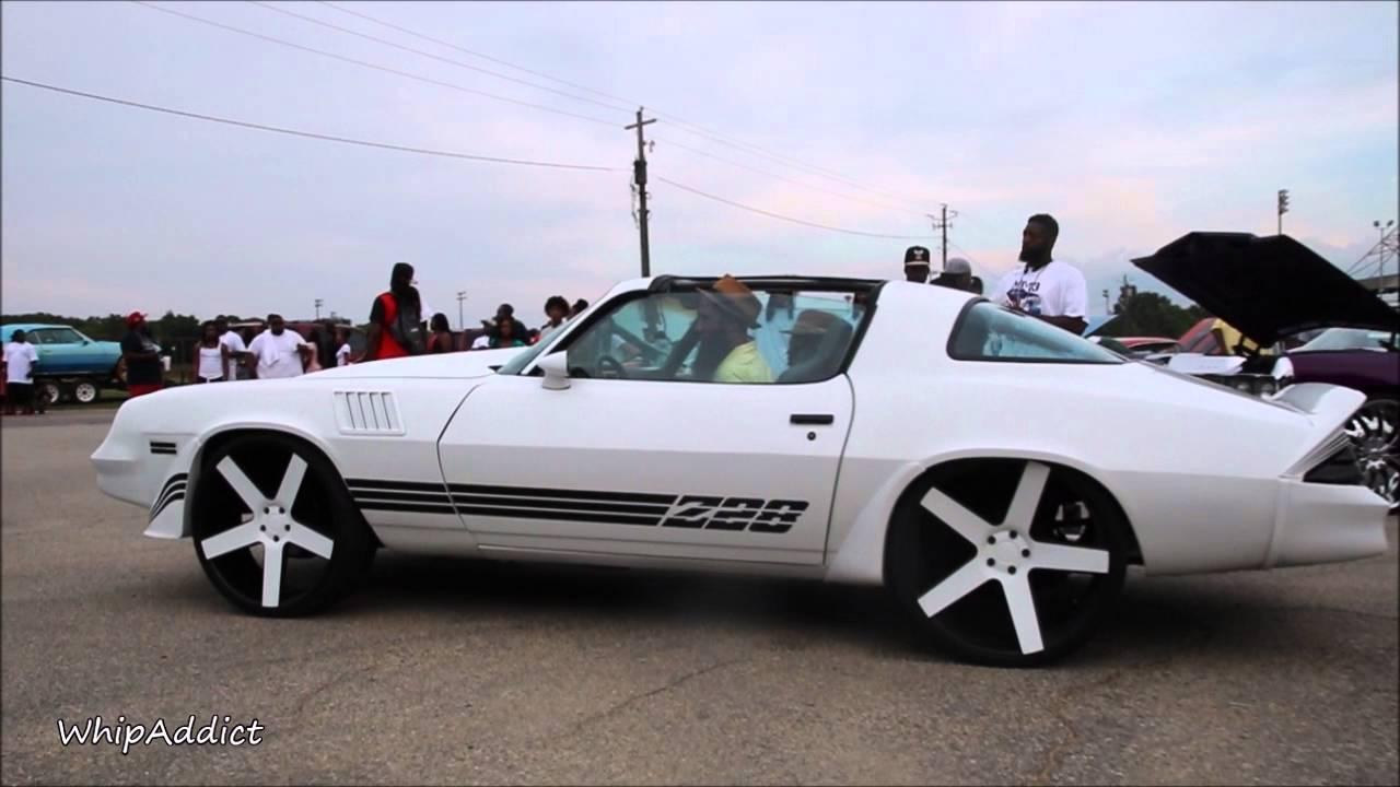 WhipAddict: 79' Chevrolet Camaro Z28 on DUB Ballers, T-Tops, Custom Interior - YouTube