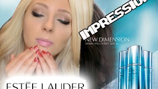 Estee Lauder - The New Dimension Shape and Fill Expert Serum Impression