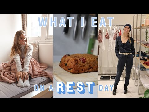 WHAT I EAT ON A REST DAY | Half marathon training | How I plan my runs