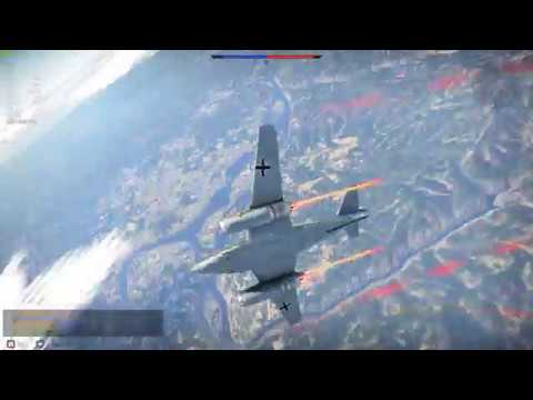 War Thunder - Me 262 C-2b final kill