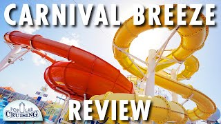 Carnival Breeze Tour & Review ~ Carnival Cruise Line ~ Cruise Ship Tour & Review