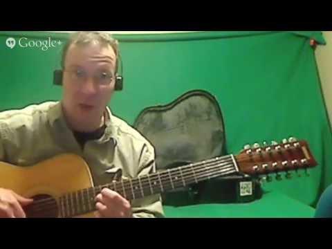 Silent Night Chords|Christmas Carol Chords In Drop C Tuning On A 12-String