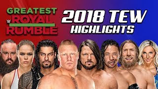Booking WWE Greatest Royal Rumble! WWE 2018 (Total Extreme Wrestling)