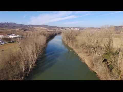 Parrot Bebop 2 La lama del fiume Arno ITA