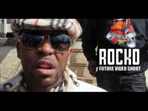 Rocko Shows Up To Future Video Shoot