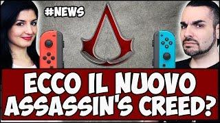 NUOVO ASSASSIN'S CREED! + BRUTTE NOTIZIE PER SWITCH! #NEWS