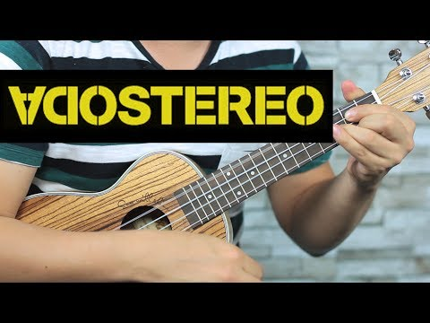 Soda Stereo - De Música Ligera UKULELE Tutorial FÁCIL (HD)