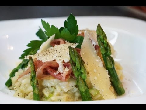 Apprendre faire la recette du risotto de printemps aux - Recette de cuisine gastronomique francaise ...