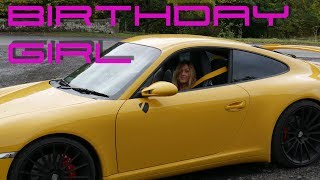 Ruths Birthday in the Porsche Widebody C4s - Carriages Tea Room