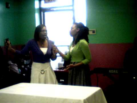 brianna turner nd joann fields singing praise him now for the first time ever together