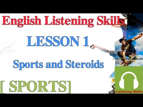 Luyện nghe tiếng Anh có phụ đề: [chủ đề thể thao] Bài 1