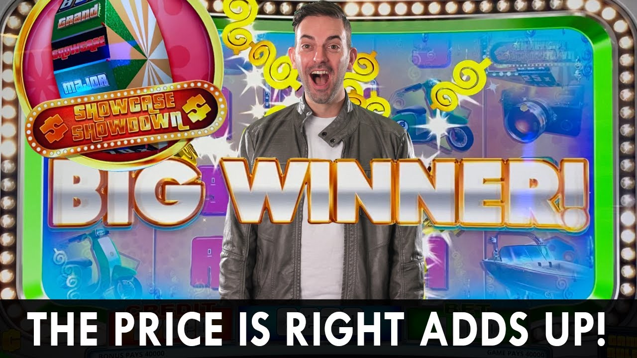 💰 PRICE IS RIGHT ADDS UP 🚙 Showcase Showdown BIG WINNER 🎰 WILD About Slots