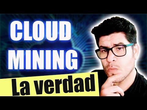 CLOUD MINING | Se Puede Ganar Dinero Online Con MINERIA EN LA NUBE De BITCOINS 2021