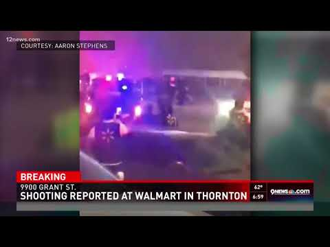 Shooting at a Walmart in Colorado