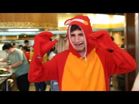 Dressing Up As A Crab And Watching People Eat My Family