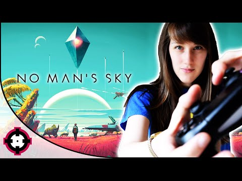 ►No Man's Sky Gameplay◄ Space Traveling & Buying a Fancy Space Ship!
