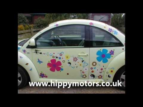 Hippy motors car stickers decals for the free spirited youtube