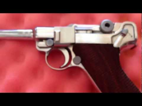 DWM Nickel Luger PO8 Review