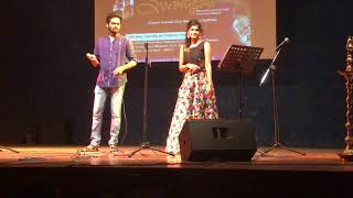Khuda Jaane Live Performance by Yash Pawar & Sudhishna Shetty.