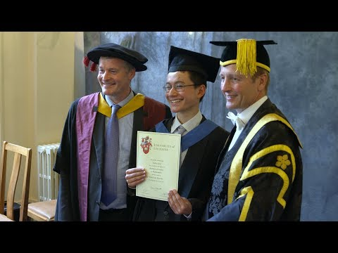 University of Leicester's youngest ever graduate