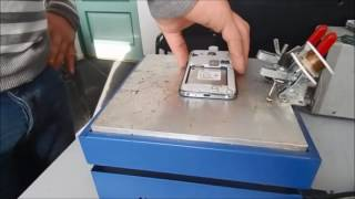видео samsung g355h после воды не работает сенсор, water damage touchsreen