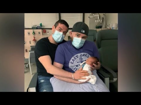 Yukon dads fly to Vancouver for baby's premature birth