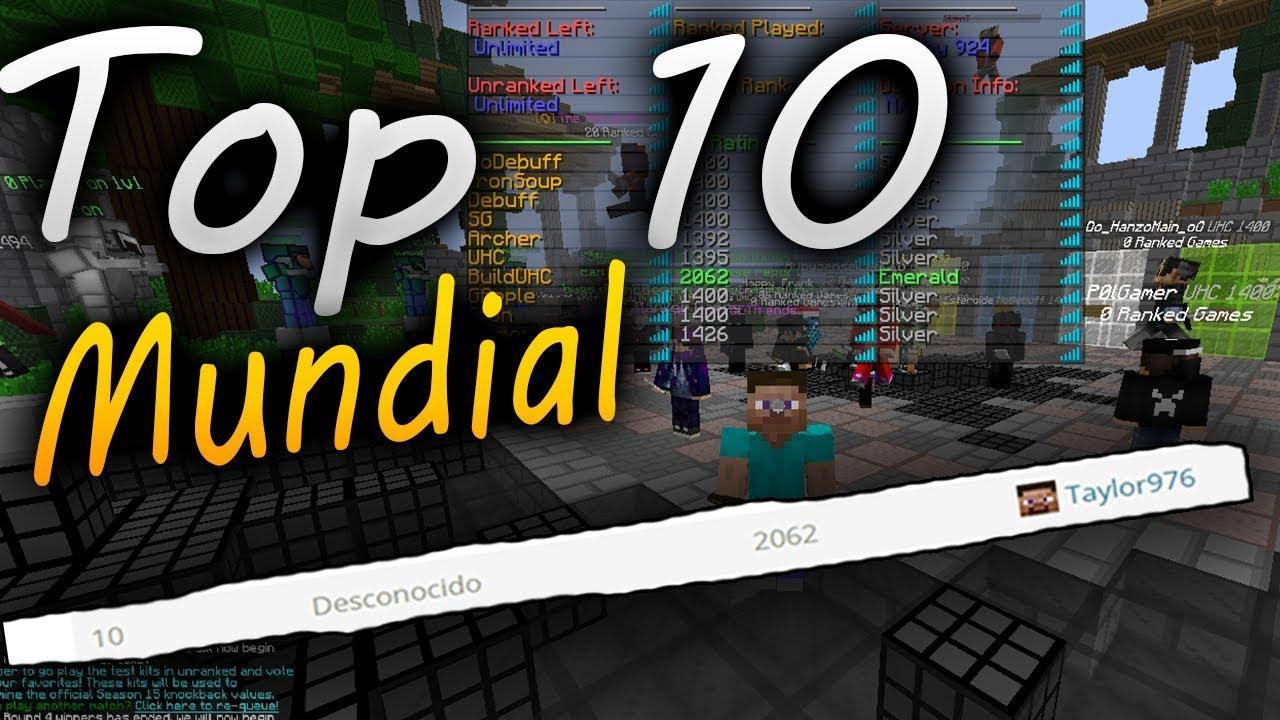 Top 1 ecuador y top 10 del mundo build uhc youtube for Mundo top build