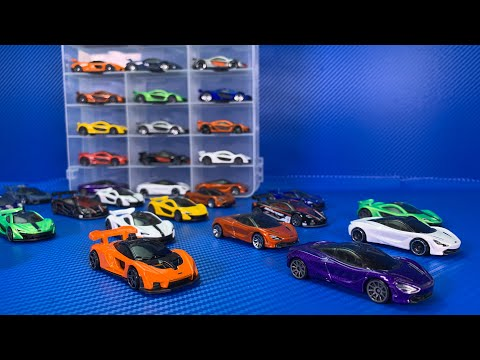 Mclaren Hot Wheels Showcase