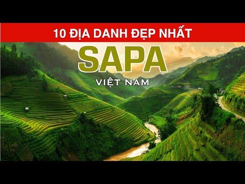 DU LỊCH và KHÁM PHÁ SAPA Việt Nam đến 10 Địa Danh Đẹp Nhất SAPA Top 10 Places to Visit  Sapa Vietnam