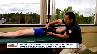 MSU 'must have something to hide' in Larry Nassar report, accusers say