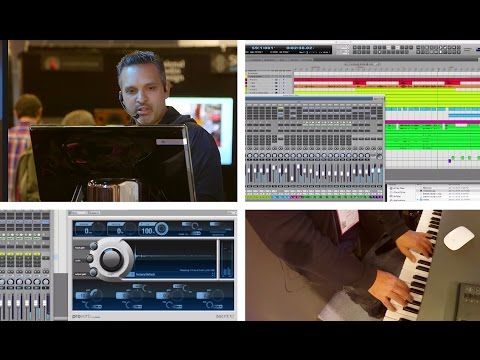 MOTU at NAMM 2015: Music Production with DP