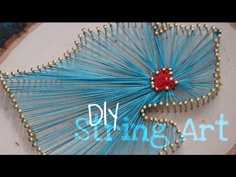 DIY | Easy State Outline String Art Tutorial