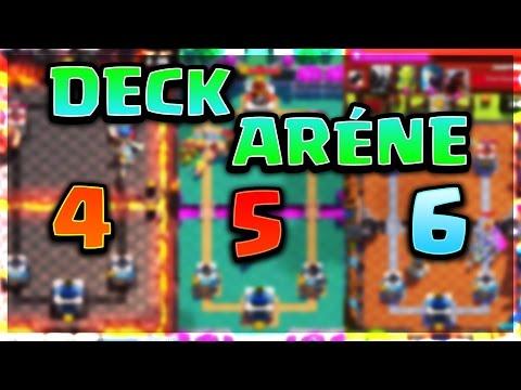 Les meilleurs deck pour arene 4 5 6 sans legendaire for Deck arene 6 miroir