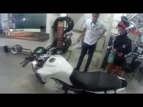 COMO AMACIAR O MOTOR DE UMA MOTO 0KM+ BUSCANDO CG FAN 160 2018 NA HONDA