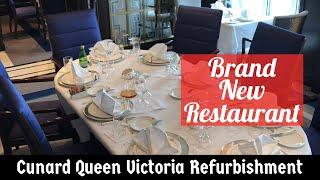 Queen Victoria Refurbishment 2017 - Brand New Britannia Club